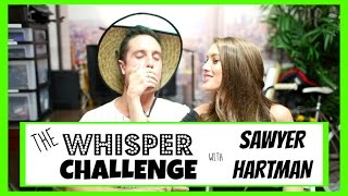 THE WHISPER CHALLENGE + EX BOYFRIEND TAG W/ SAWYER HARTMAN! | Blair Fowler Thumbnail