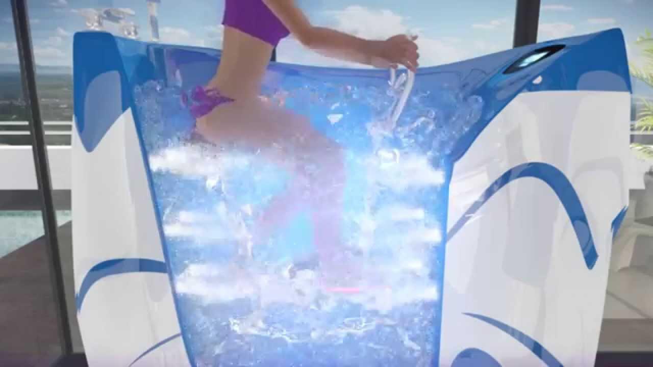 Nj Hydrobike Cabine D Aquabike Youtube