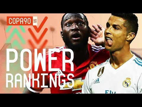Real Madrid - Time To Panic? COPA90 Power Rankings Top 10