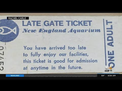 New-England-Aquarium-Accepts-Ticket-That-Was-Issued-38-Years-Ago