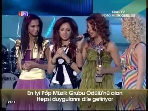 Grup Hepsi - Kral Müzik Ödülleri En İyi Grup
