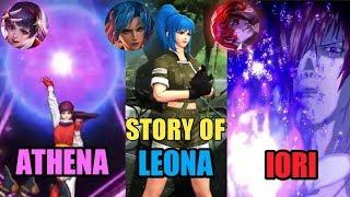STORY OF ATHENA, IORI AND LEONA SKIN - KOF X MLBB