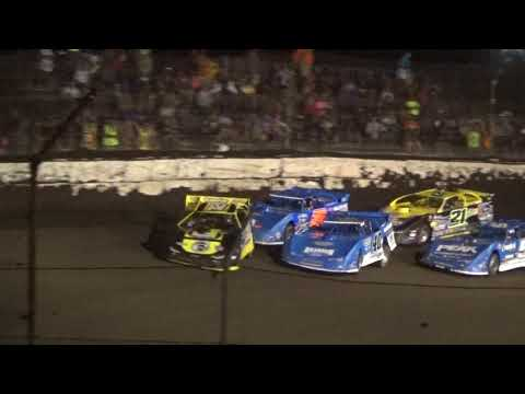 2018 Fairbury Prairie Dirt Classic Late Model Qualifer 1 Highlights Top 4 Advance