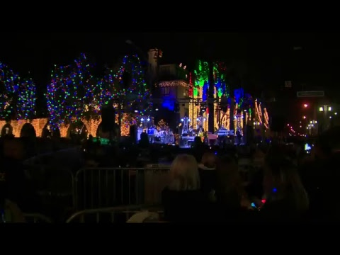 LIVE: Mission Inn Festival of Lights