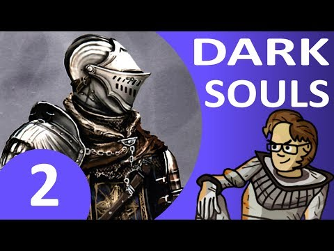 Let's Play Dark Souls Part 2 - Taurus Demon Boss, Firelink Shrine