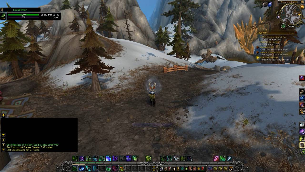 How To Get Find Brimstone Destroyer Highmountain World Quest You