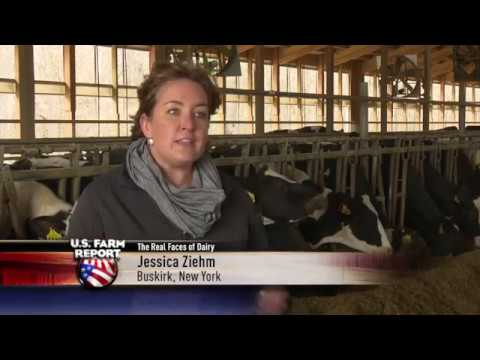 Real Face of Dairy Animal Care Pillar featured on US Farm Report
