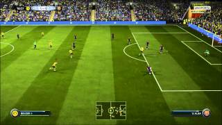 FIFA 15 PC Gameplay Borussia Dortmund VS Barcelona