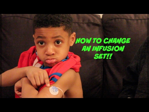 How To Change An Insulin Pump Infusion Set {Medtronic MiniMed Mio}