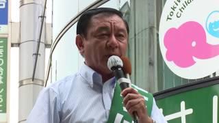 17/06/26 公明党 街頭演説会 板橋区 たちばな正剛