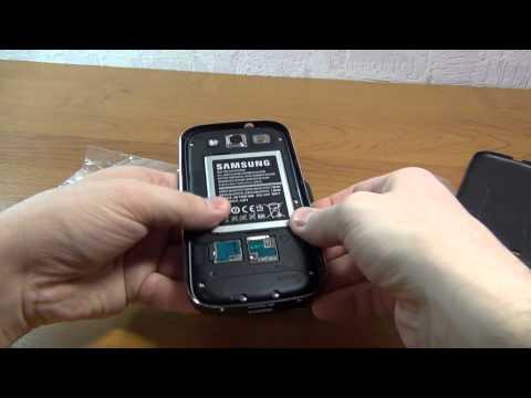 Алюминиевые бампер и задняя крышка для Samsung Galaxy S3