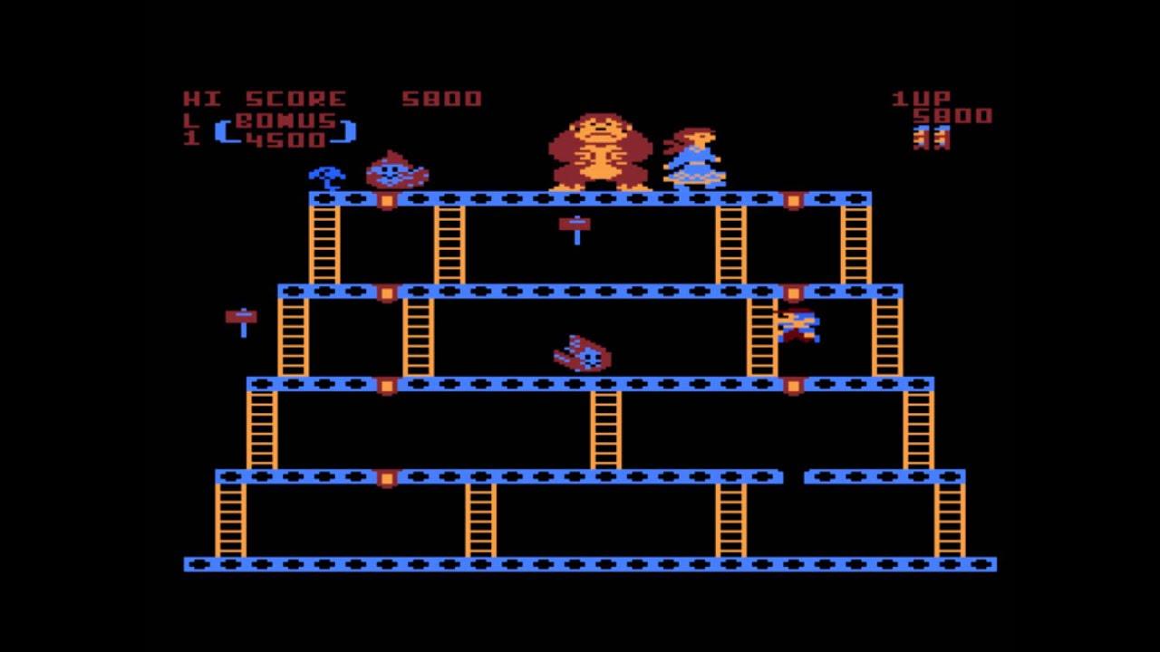 donkey Kong atari ile ilgili görsel sonucu