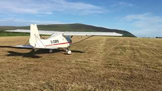 Takeoff in the Ikarus C42 @ Bootle Cumbria
