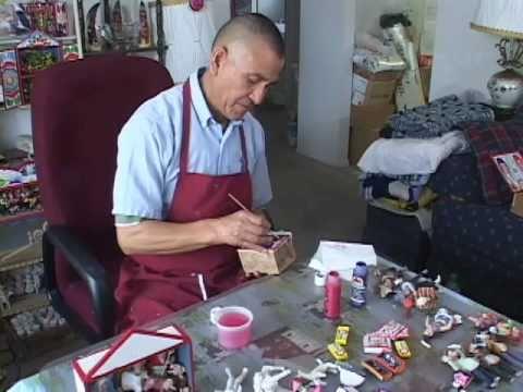 Jeronimo Lazano: Peruvian Retablo Artist