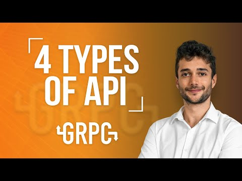 4 Types of API in gRPC - YouTube
