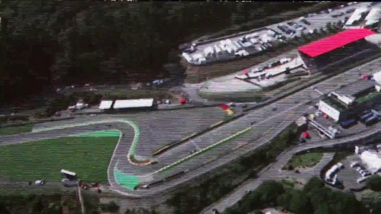 Formel 1 Spa 2015 Start Youtube