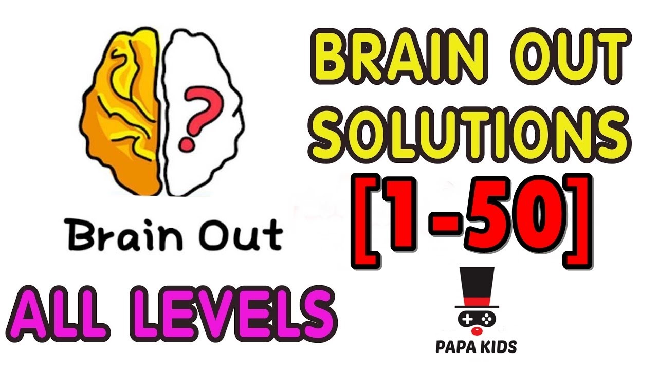 Kunci Jawaban Brain Out 1-50 - Brain Out Indonesia - YouTube