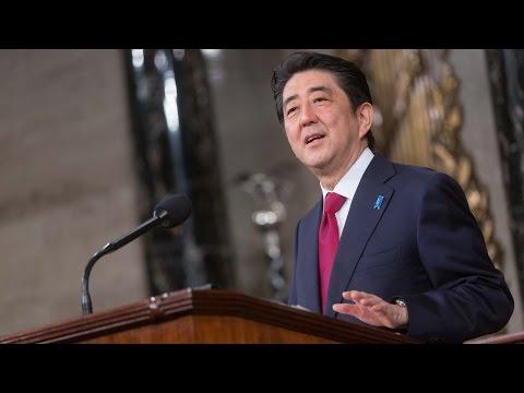 Prime Minister Shinzo Abe of Japan