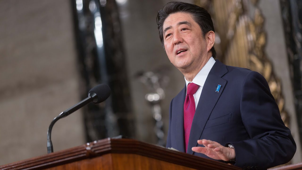 Prime Minister Shinzo Abe of Japan's Address to a Joint Meeting of Congress