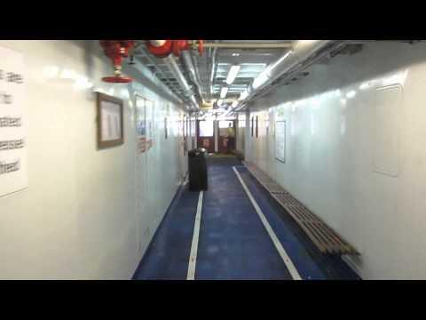 Inside Woolwich Ferry