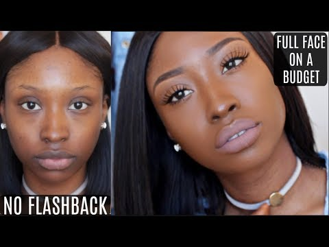 FULL COVERAGE FOUNDATION ROUTINE FOR DARK SKIN