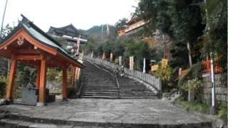 B059【世界遺産】熊野古道大門坂-7<実方院跡地~那智大社>
