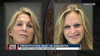 Mom, daughter arrested for prostitution, unlicensed massage therapy