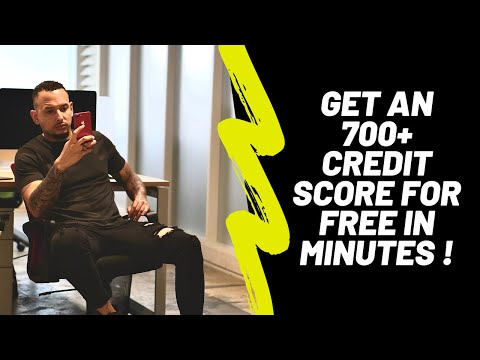 HOW TO BOOST YOUR CREDIT SCORE FOR FREE IN MINUTES!!