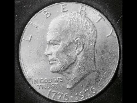 Eisenhower One Dollar Coin Date: 1776 - 1976