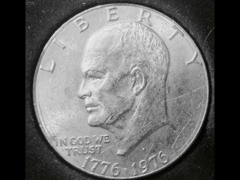 Eisenhower One Dollar Coin Date: 1776 - 1976