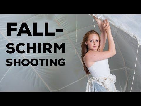 Fallschirm Fashion Shooting Fotografie Mori Monteiro GoPro