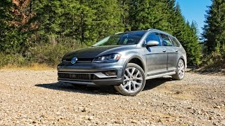 2017 Volkswagen Golf SportWagen Alltrack Car Review
