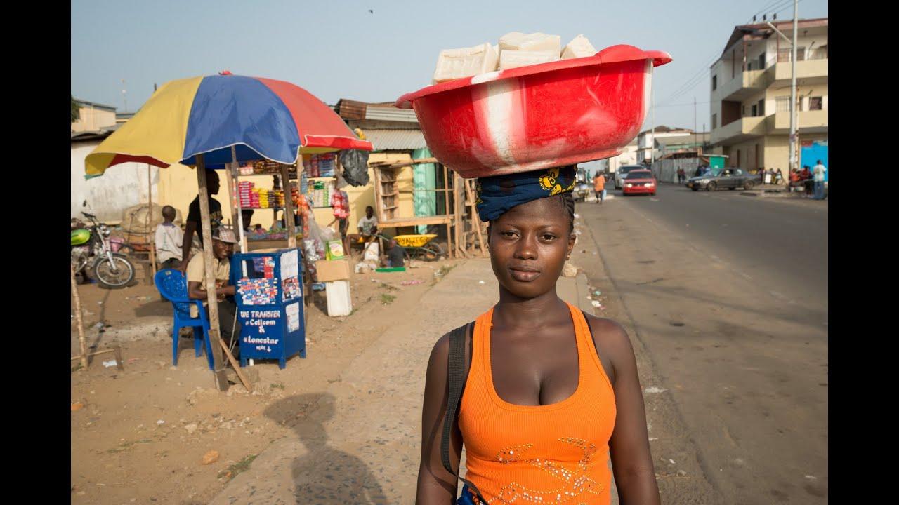 Teen girls Liberia