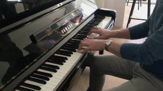 Jamiroquai -  Seven Days in sunny June (piano solo)