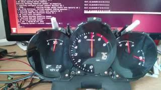 i.MX6SX - Realtime CAN interface with RX8 Instrument Cluster using UDOO Neo