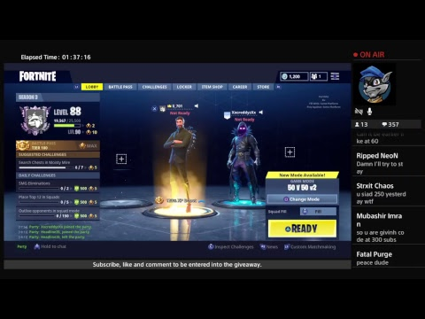 [LIVE] FORTNITE // free save the world Codes giveaway // and Vbucks // come join!!!