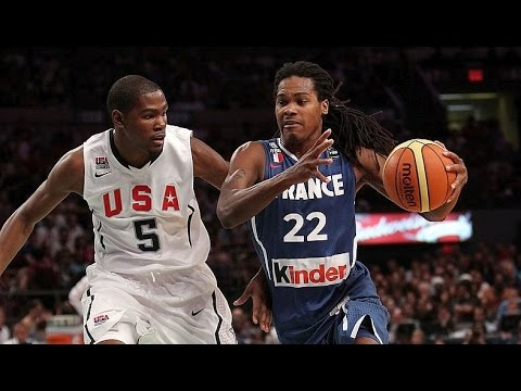France @ USA 2010 FIBA World Basketball Championship Exhibition Friendly FULL GAME English