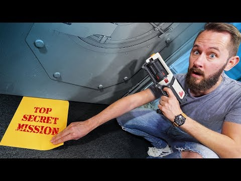 NERF Top Secret Mission Challenge!