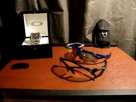 8b034fe813d Oakley Shooting and Hydrophobic Lenses - YouTube