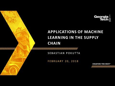 Applications of Machine Learning in the Supply Chain - YouTube