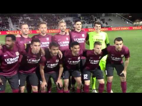Sacramento Republic FC Battle Seattle Sounders FC in Preseason Friendly