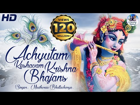 ACHYUTAM KESHAVAM KRISHNA DAMODARAM | VERY BEAUTIFUL SONG - POPULAR KRISHNA BHAJAN ( FULL SONG )