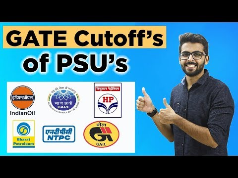 GATE Cutoff for PSU 2018 | BARC,IOCL,HPCL,NTPC | Latest Job Updates