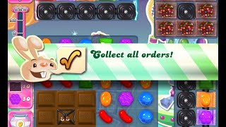 Candy Crush Saga Level 1212 walkthrough (no boosters)