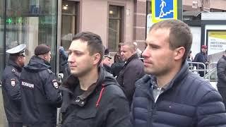 23 09 2018 г Шествие и митинг Антикап Левые и ультра левые