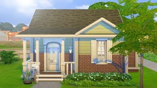 CUTE FAMILY STARTER HOME // The Sims 4: Speed Build
