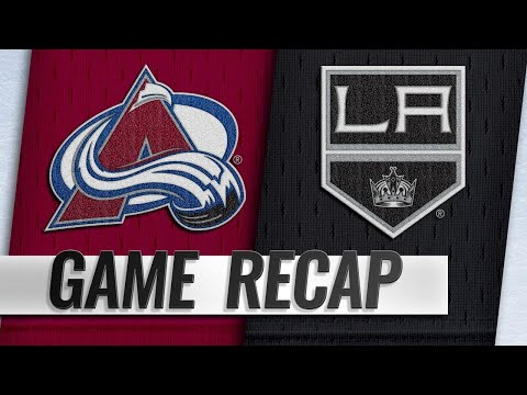 Avalanche score seven in rout of Kings