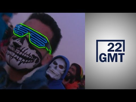 5 آلاف تونسي يحتفلون بمهرجان -الكثبان الإلكترونية- في صحراء الجنوب التونسي  - 03:58-2019 / 11 / 20