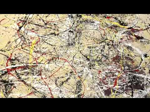 01   Abstract Expressionism   03   The Painting Techniques of Jackson Pollock