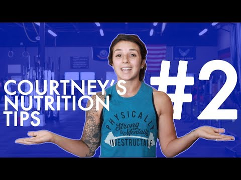 Courtney's Nutrition Tips: Cheat Meals
